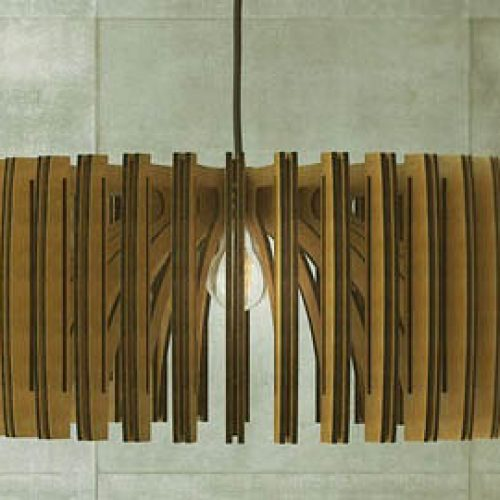 Pendant Wood Light
